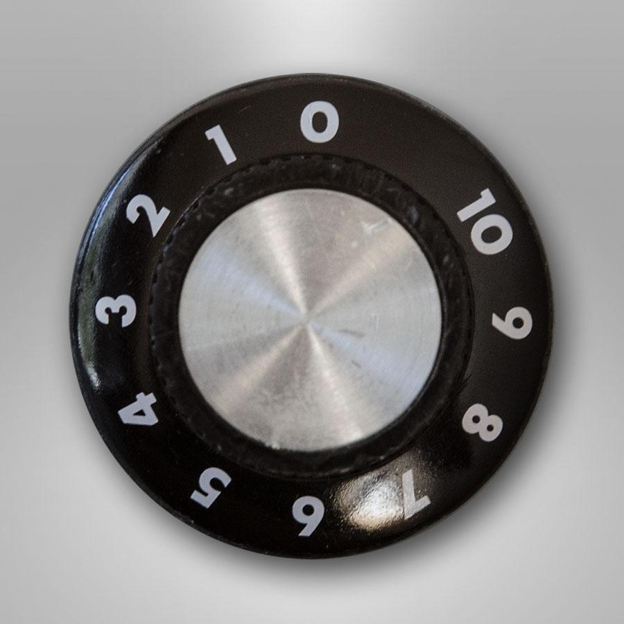 Bouton de volume de l'alarme sonore de l'appareil de traitement de l'énurésie Urino-Arrêt