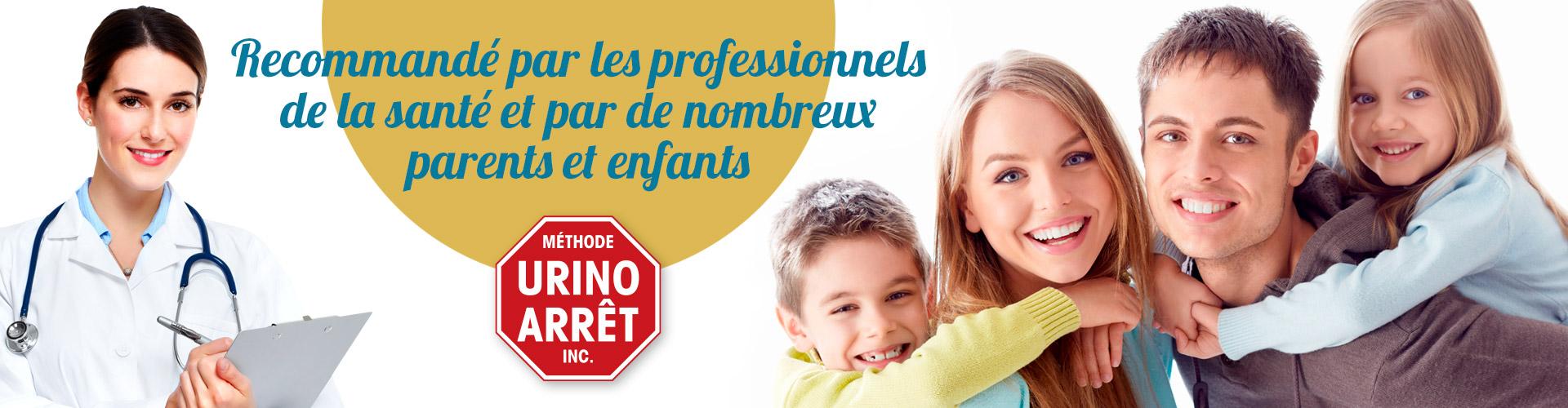 Témoignages de professionnels de la santé, de parents et d'enfants sur l'efficacité de la Méthode Urino-Arrêt