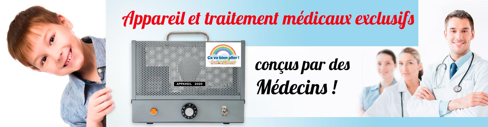 Les appareils pour le traitement de l'énurésie Urino-Arrêt ont été conçus par des médecins.